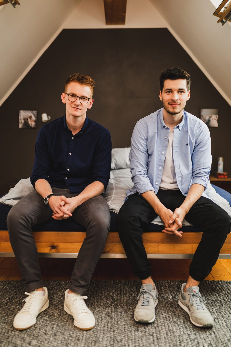 hig & chic-Gründer Tom Gärtner und Matthias Kühr